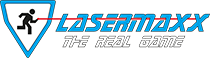 Lasermaxx - The Real Game Logo